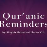 Quranic Reminders