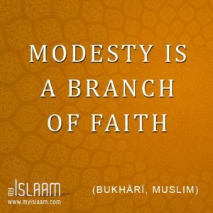 Modesty Is a Branch of Faith