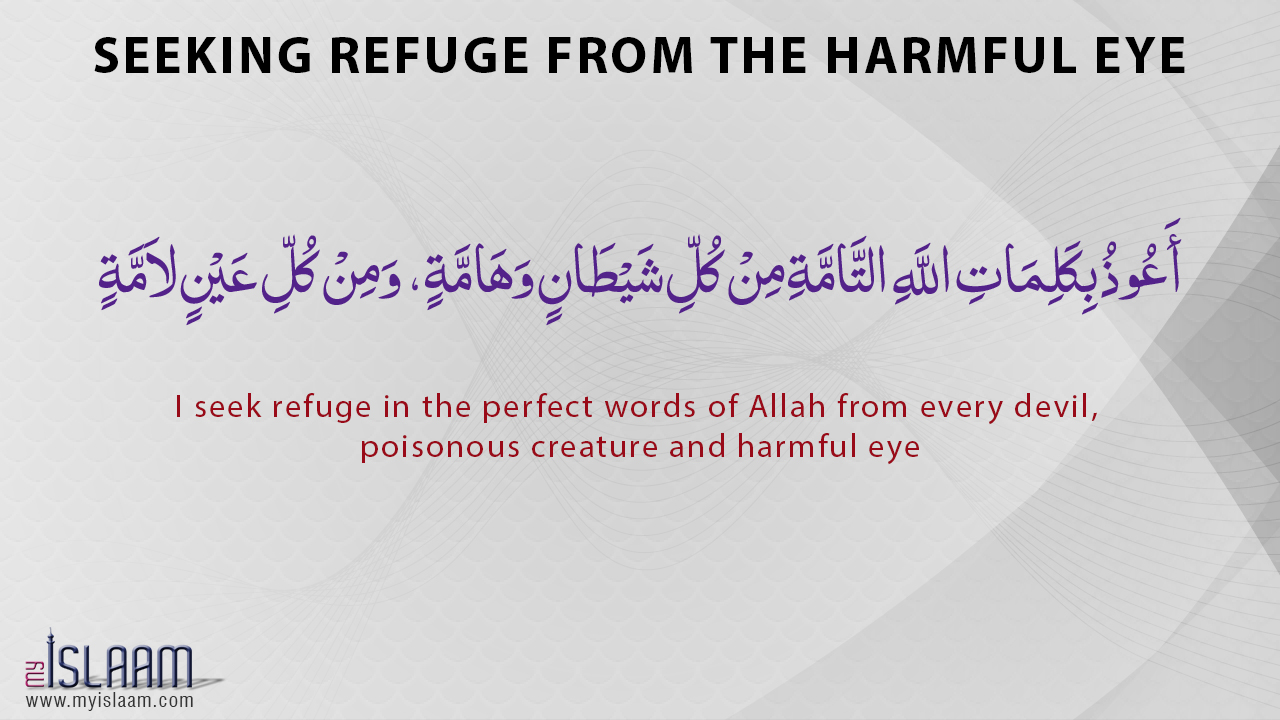 Seeking refuge from the harmful eye