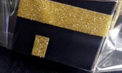 Using a ka'bah-themed image as a gift box